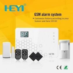 Tủ báo động Heyi HY-H3, APP điện thoại IOS,Android (báo trộm)