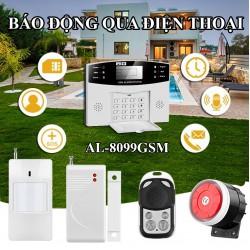 Báo động qua điện thoại dùng SIM AL-8099GSM không dây