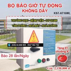 Bộ chuông reo báo giờ tự động không dây KST-AT16WL